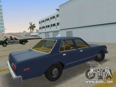 Dodge Aspen 1979 for GTA Vice City left view