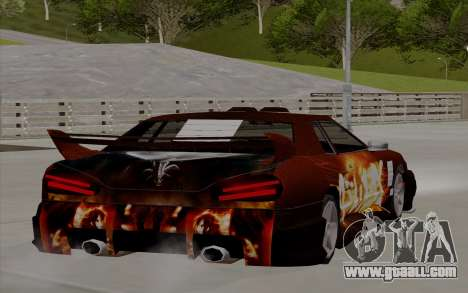 Paint work for Yakuza Elegy for GTA San Andreas left view