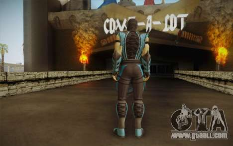 Sub Zero Skin for GTA San Andreas second screenshot
