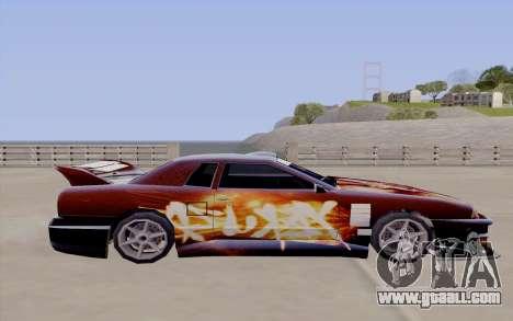 Paint work for Yakuza Elegy for GTA San Andreas back view