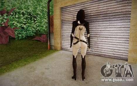 Miranda from Mass Effect 2 for GTA San Andreas second screenshot