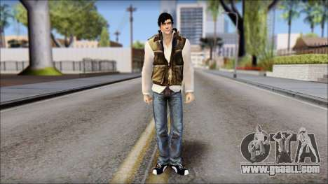 Alex from Prototype Alpha Texture for GTA San Andreas