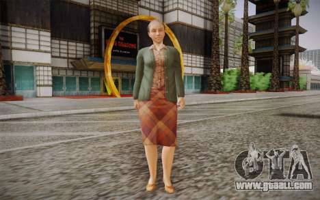 Elderly woman for GTA San Andreas