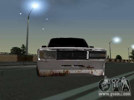 VAZ 2107 Tramp for GTA San Andreas left view