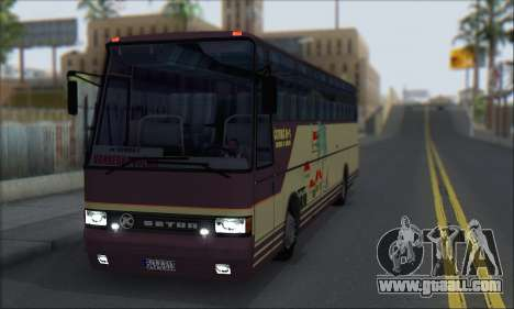 Setra S215 HD for GTA San Andreas left view