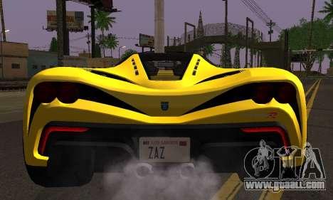 Grotti Turismo R V.1 for GTA San Andreas right view
