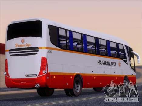Marcopolo Paradiso 1200 Harapan Jaya for GTA San Andreas right view