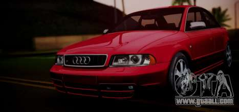 Audi S4 Stock 2000 for GTA San Andreas