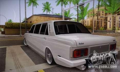 Peykan 1600i Limo for GTA San Andreas left view