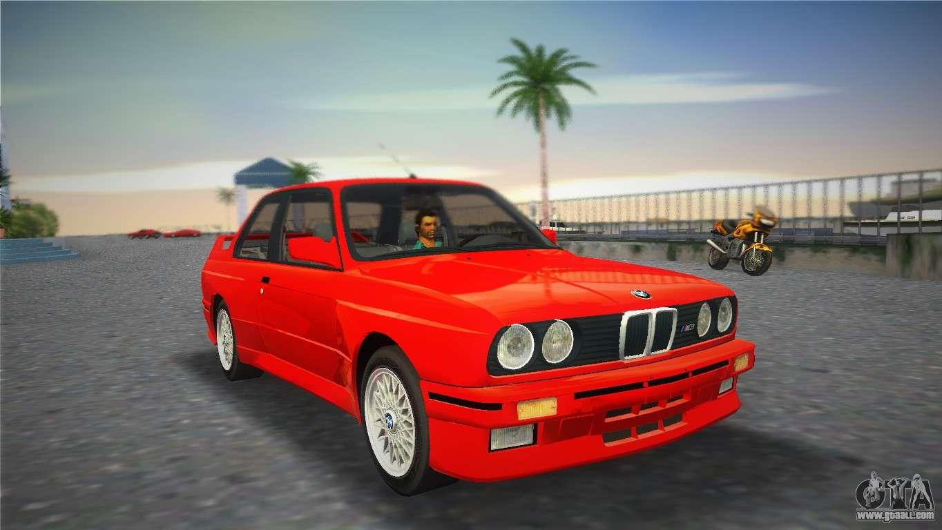 Bmw M3 E30 1987 For Gta Vice City