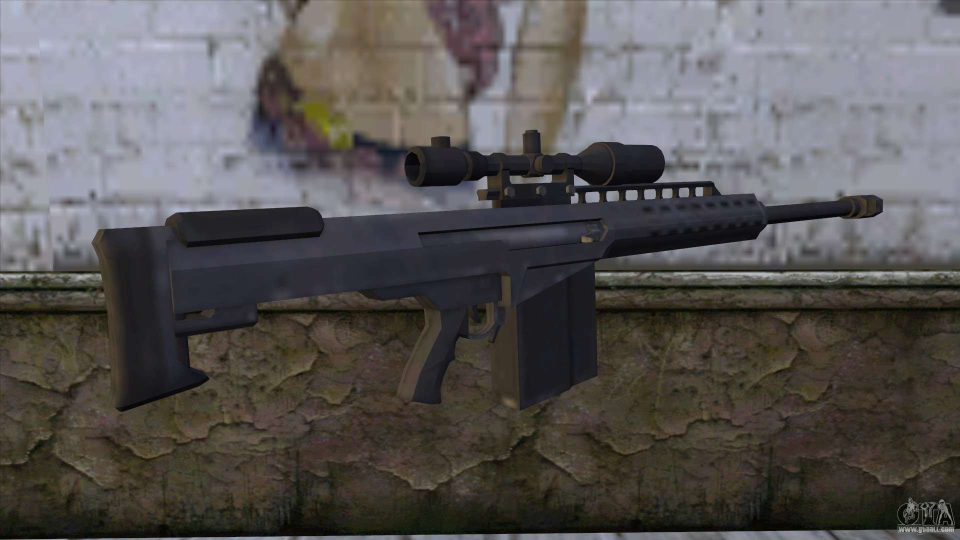 Heavy Sniper From Gta 5 V2 For Gta San Andreas