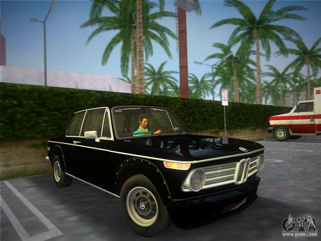 Bmw 2002 Tii E10 1973 For Gta Vice City