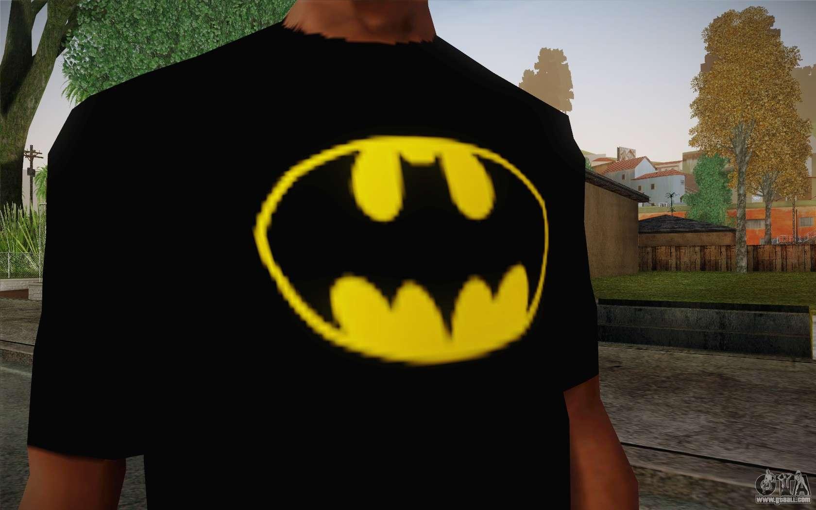 Favori Batman Swag Shirt for GTA San Andreas BC44
