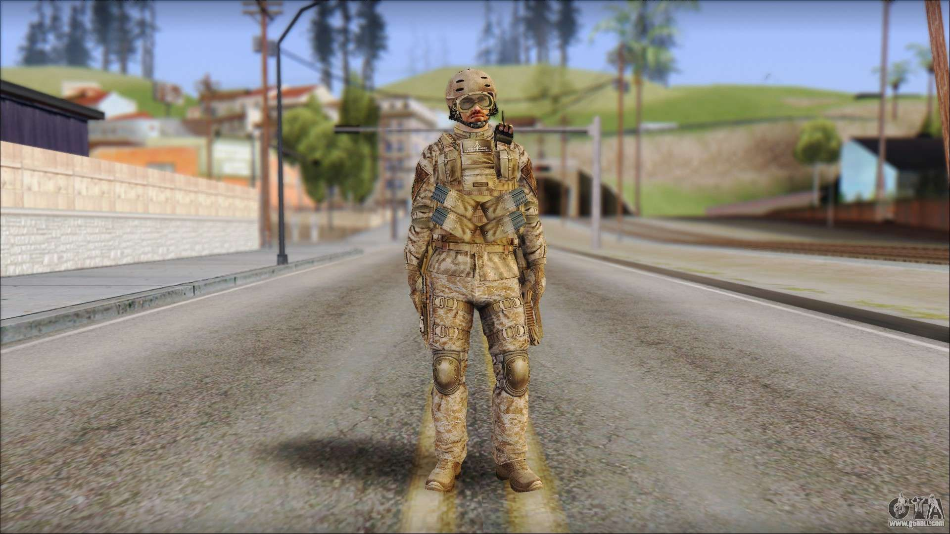 Desert Sfod From Soldier Front