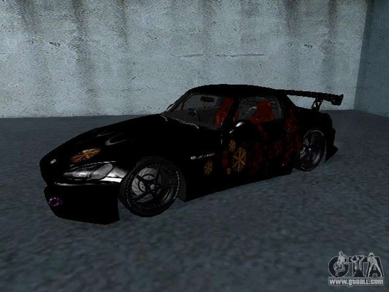 honda s2000 from fast amp furious for gta san andreas