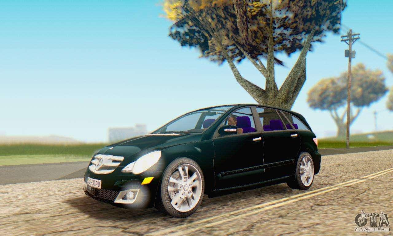 Mercedes benz r350 for gta san andreas for Mercedes benz r350
