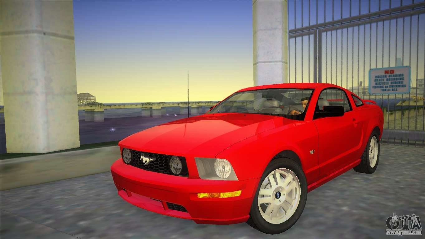 ford mustang gt 2005 for gta vice city. Black Bedroom Furniture Sets. Home Design Ideas
