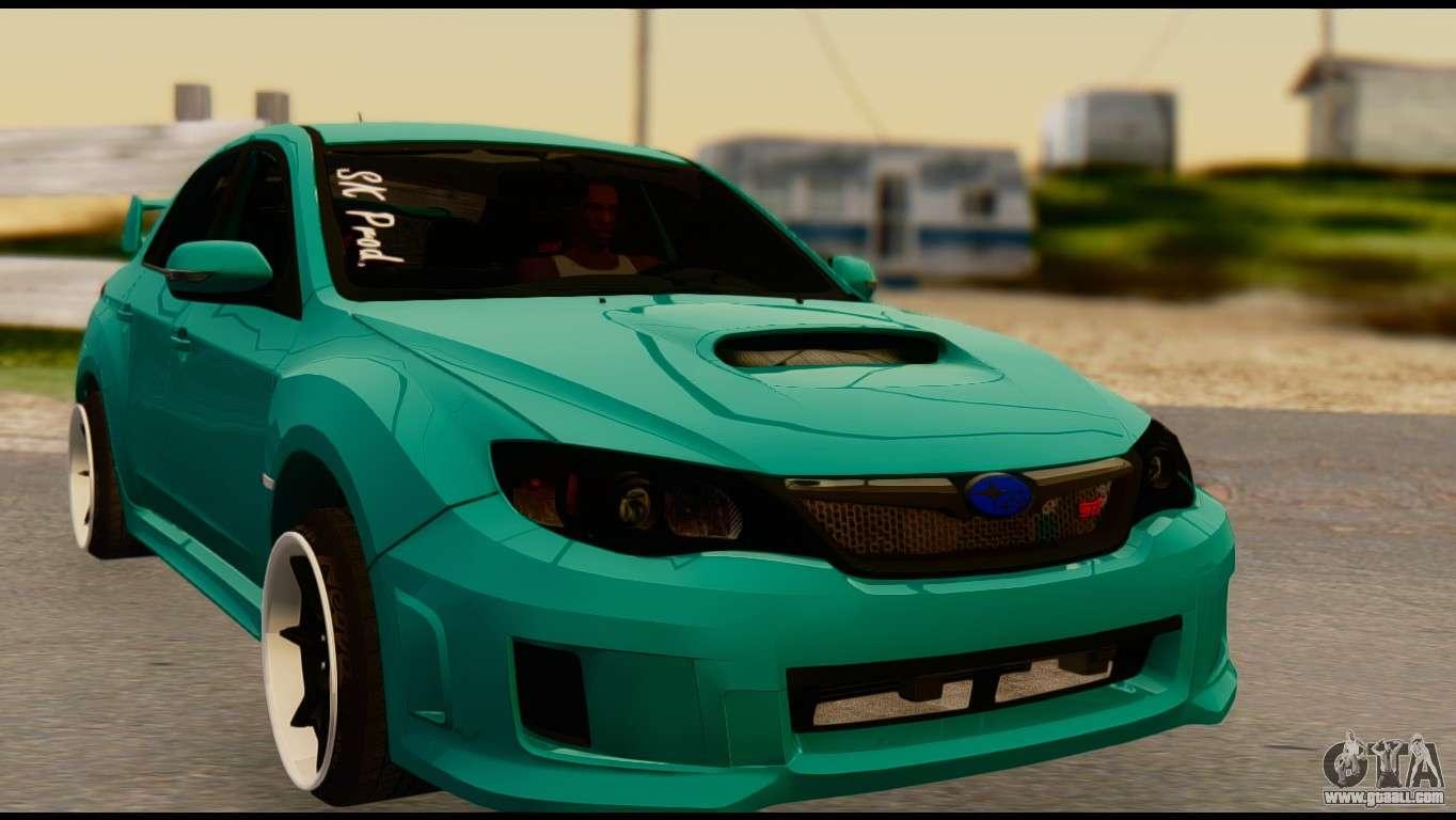Awd Sports Cars >> Subaru Impreza Stance Works for GTA San Andreas