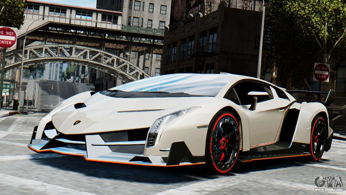 lamborghini veneno 2013 for gta 4