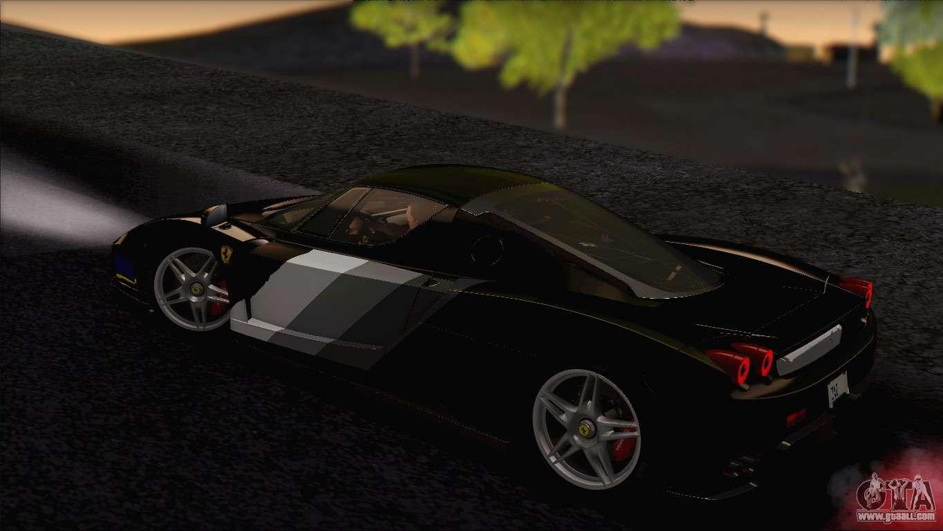 ferrari enzo 2002 for gta san andreas interior - Ferrari 2014 Enzo Interior