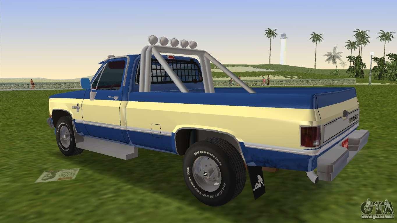 Chevrolet silverado k 10 2500 1986 for gta vice city