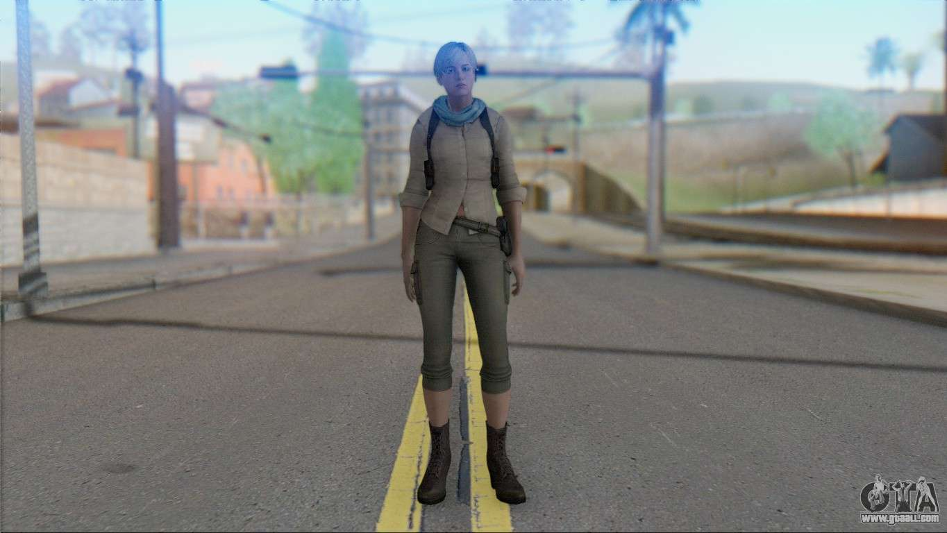 Resident Evil ORC - Sherry Birkin (YoungKid) for GTA San