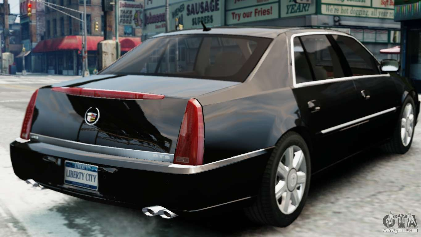 Cadillac Dts 2006 V1 0 For Gta 4