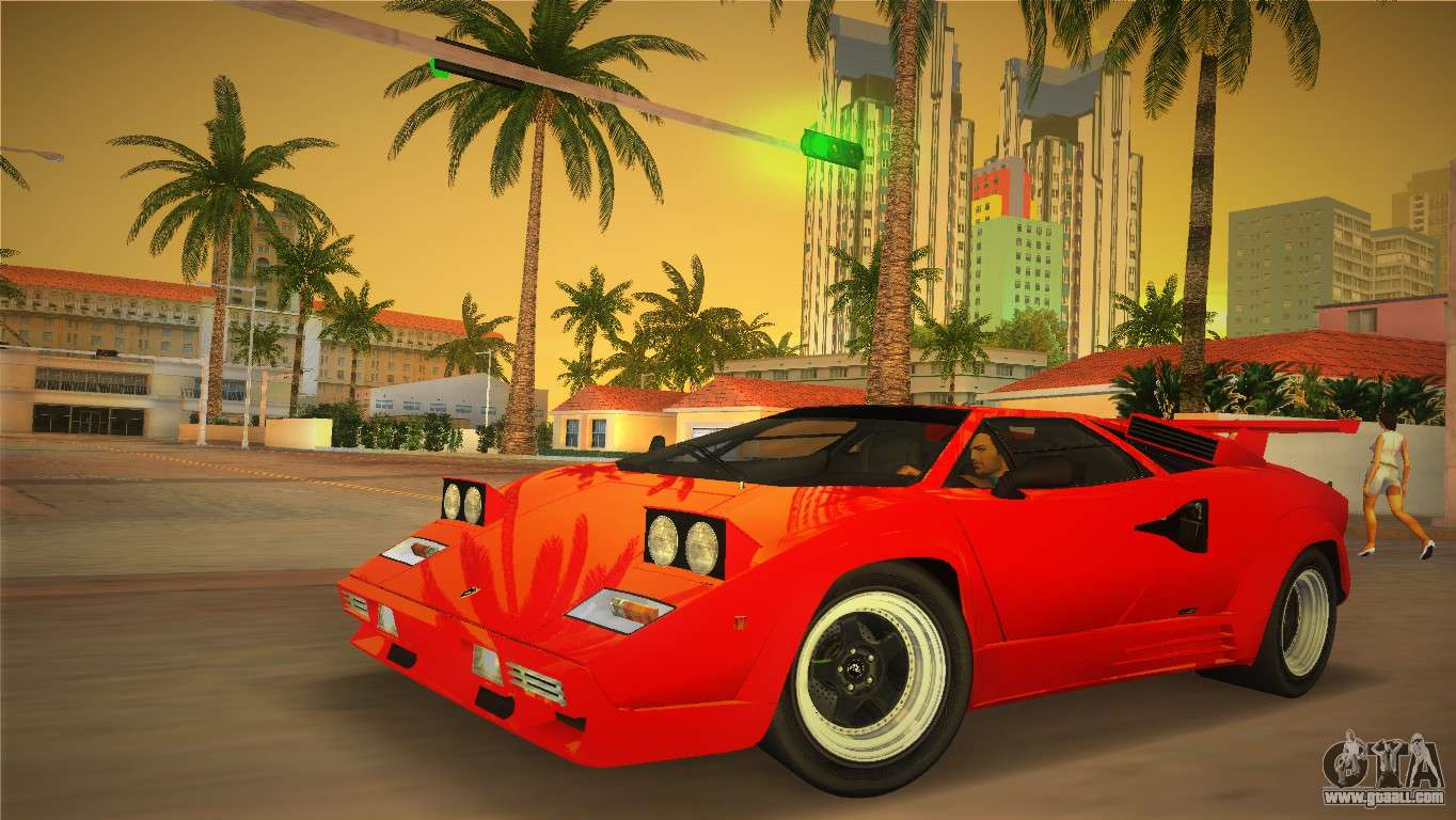 lamborghini countach lp5000 qv tt custom for gta vice city. Black Bedroom Furniture Sets. Home Design Ideas