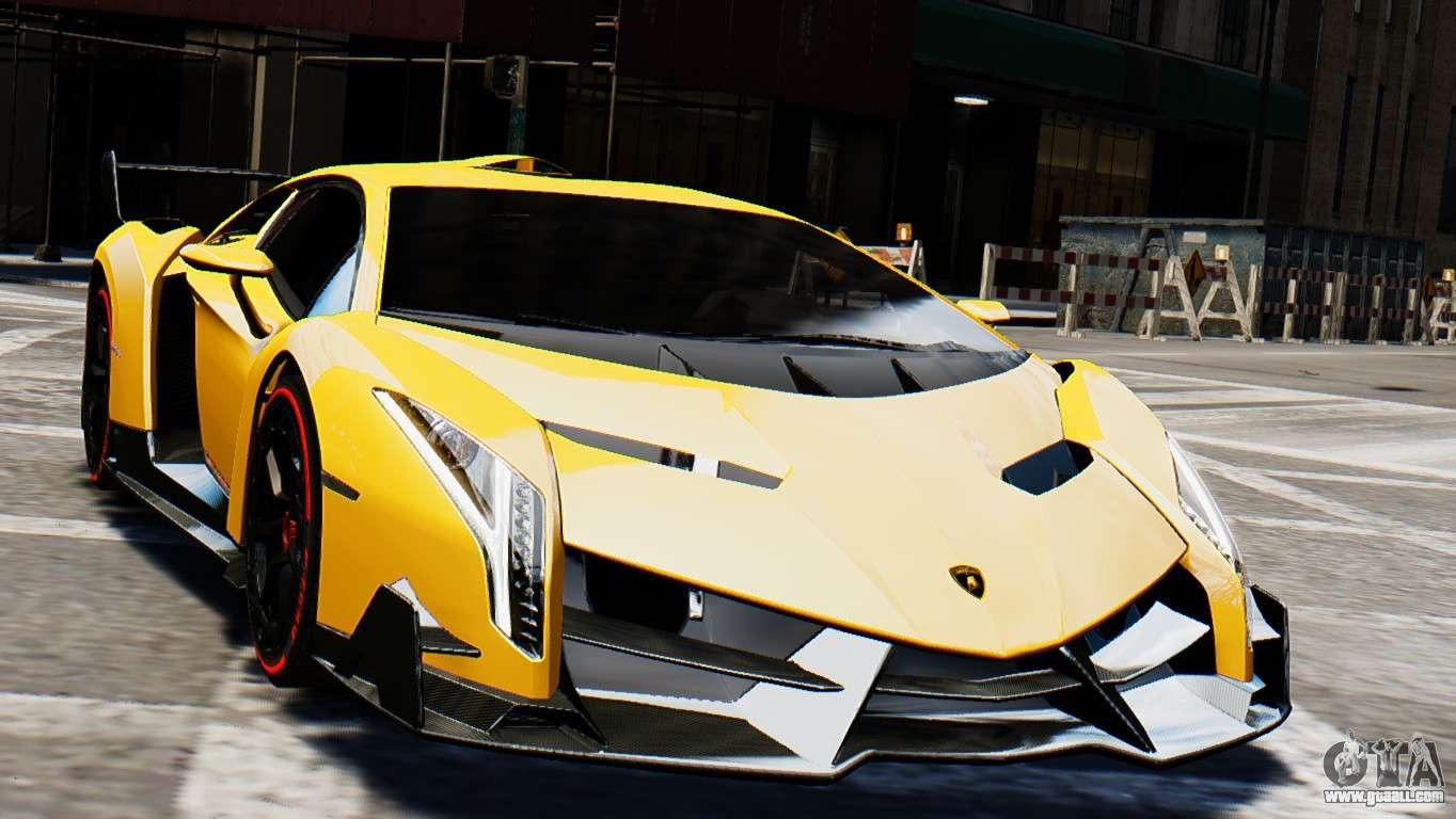 Lamborghini Veneno Coupe >> Lamborghini Veneno 2013 for GTA 4