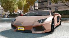 Lamborghini Aventador LP700-4 for GTA 4
