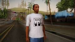 All You Need Is Hands Up T-Shirt for GTA San Andreas