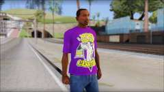 John Cena Purple T-Shirt for GTA San Andreas