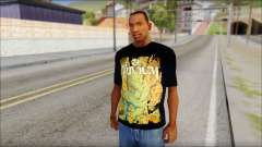 Trivium T-Shirt Mod for GTA San Andreas