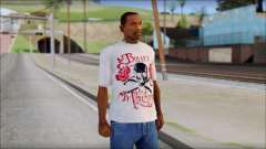 Bullet For My Valentine White Fan T-Shirt for GTA San Andreas