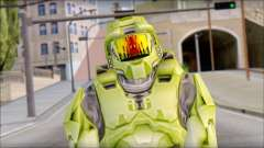 Masterchief Green from Halo
