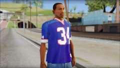 NY Buffalo Bills Blue for GTA San Andreas