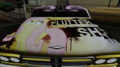 Paint work for Slamvan MLP Fluttershy