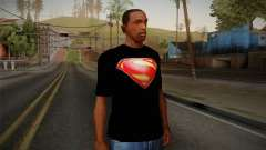 Man of Steel T-Shirt for GTA San Andreas
