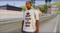 JDM Keep Calm T-Shirt for GTA San Andreas