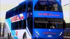 Metalsur Starbus DP 1 6x2 - La Veloz del Norte for GTA San Andreas