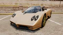Pagani Zonda C12S Roadster 2001 v1.1 for GTA 4