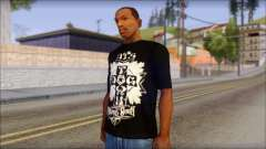 Tribal DOG Town T-Shirt Black