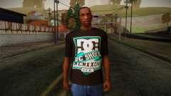 DC Shoes USA T-Shirt for GTA San Andreas