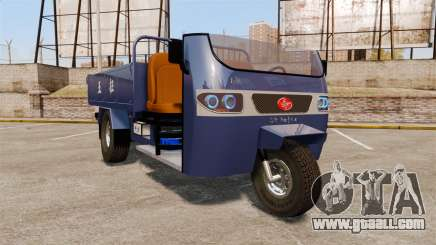 Agricultural tricycle for GTA 4