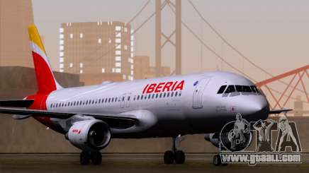 Airbus A320-214 Iberia for GTA San Andreas
