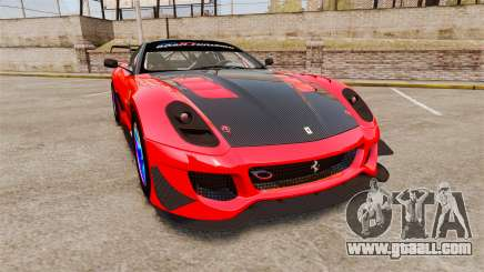 Ferrari F599 XX Evoluzione Simple CarbonFiber for GTA 4