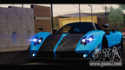 Pagani Zonda UNO for GTA San Andreas