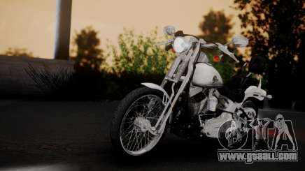 Harley-Davidson FXSTS Springer Softail for GTA San Andreas