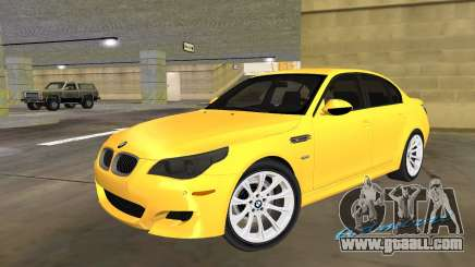 BMW M5 E60 for GTA Vice City