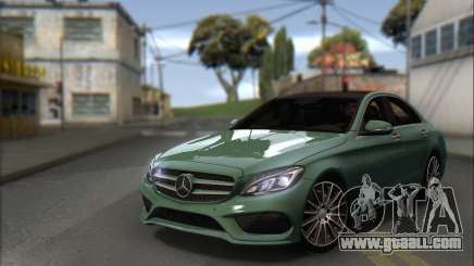 Mercedes-Benz C250 V1.0 2014 for GTA San Andreas